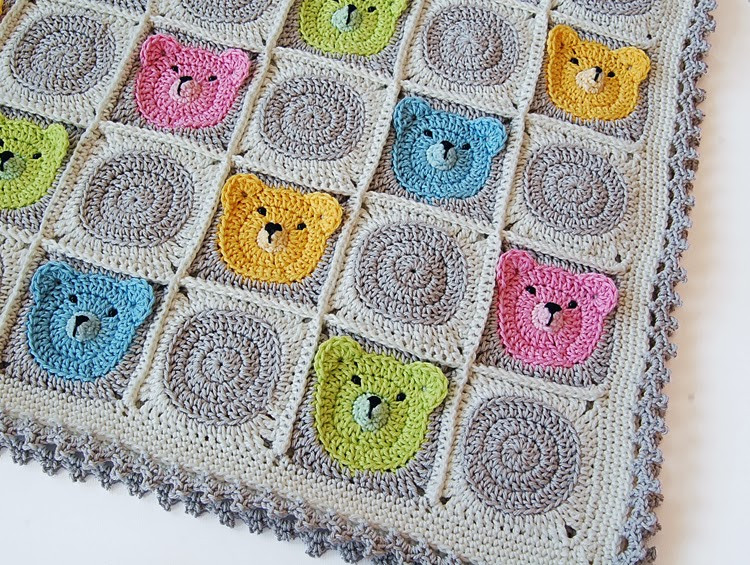 Unique Teddy Bear Granny Square Baby Blanket Granny Square Baby Blanket Of Amazing 41 Pictures Granny Square Baby Blanket
