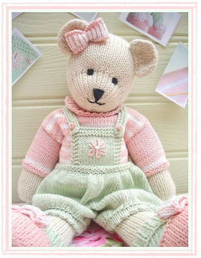 Teddy bears Knitting and Bears on Pinterest