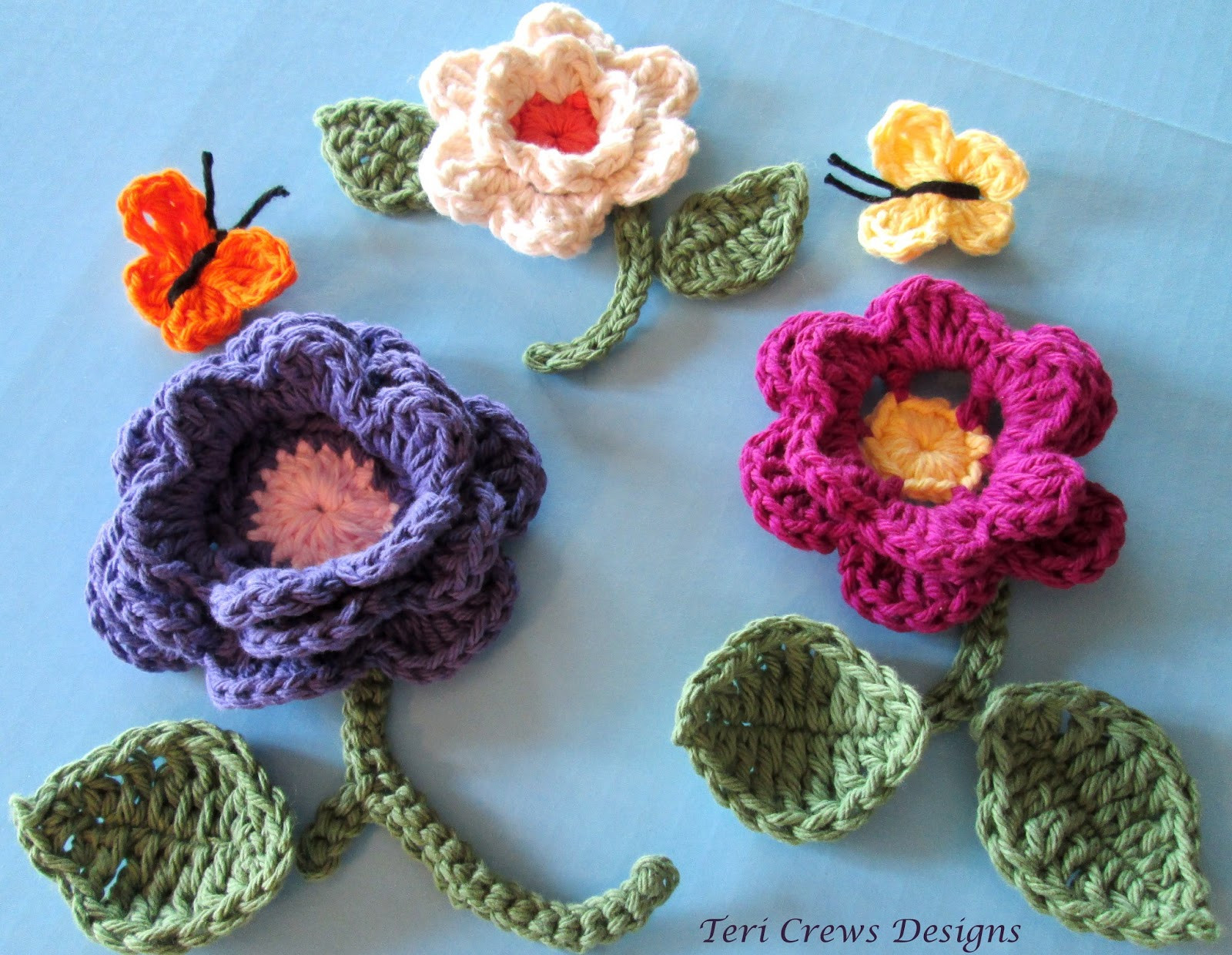 Unique Teri S Blog Free Flowers and butterflies Crochet Pattern Free Crochet butterfly Pattern Of Unique 45 Ideas Free Crochet butterfly Pattern