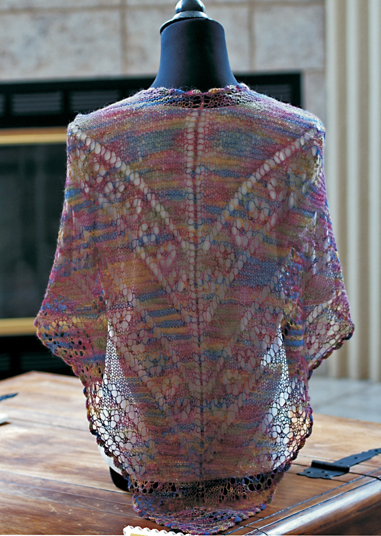 Unique the Best Of the Midwest Stitches Fashion Show 7 New Free Shawl Patterns Of Beautiful Berroco andean Mist Squelette Shawl Free Knitting Pattern Free Shawl Patterns