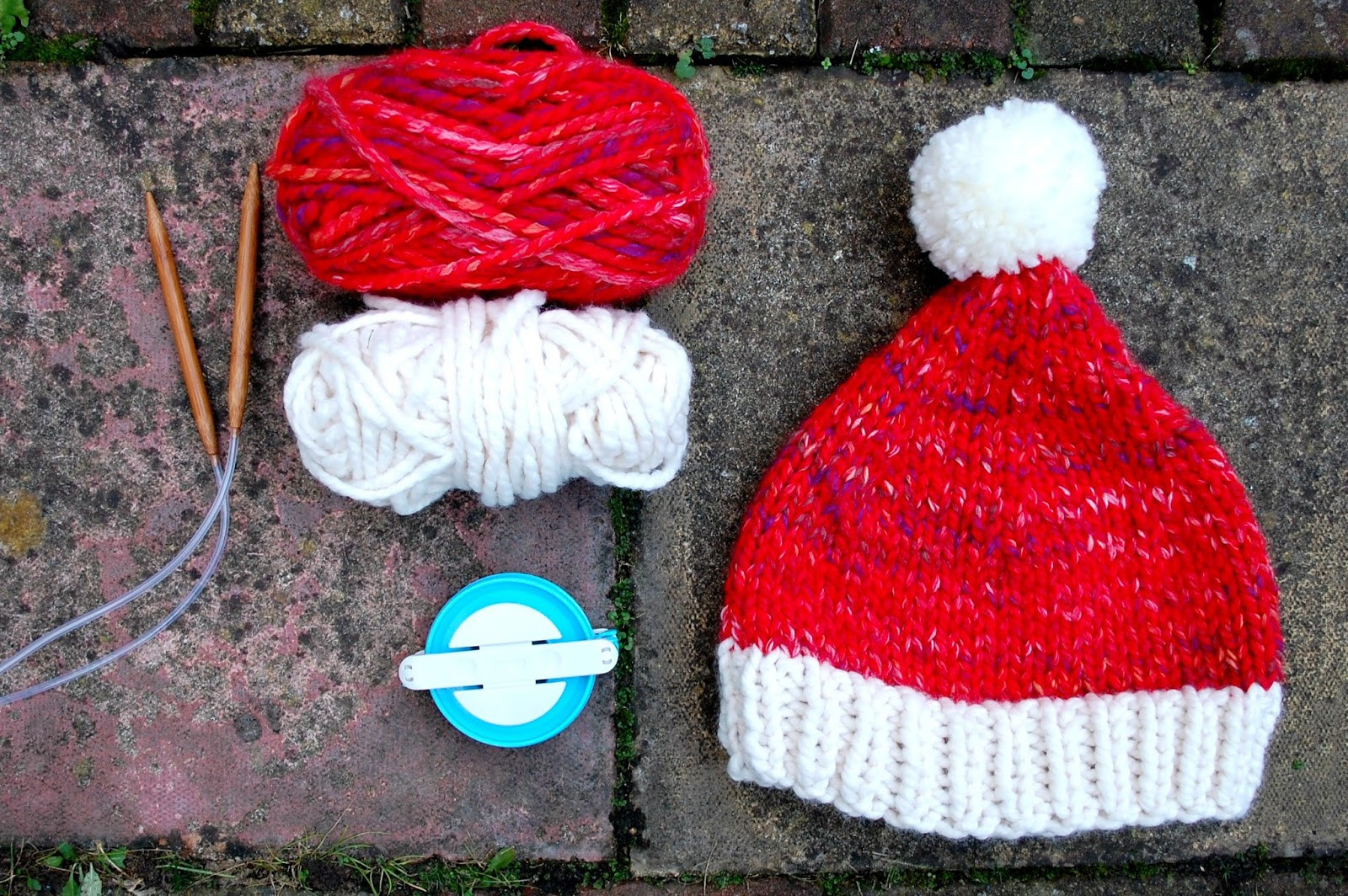 Unique the Geeky Knitter Super Chunky Santa Hat Free Knitting Knitted Santa Hat Of Fresh 50 Photos Knitted Santa Hat
