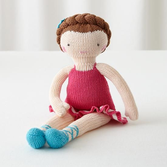 The Knit Crowd Doll Brown Hair in Dolls & Stuffed