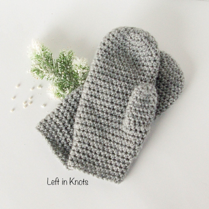 The Perfect Fit Mitten Free Crochet Pattern – AllCrafts