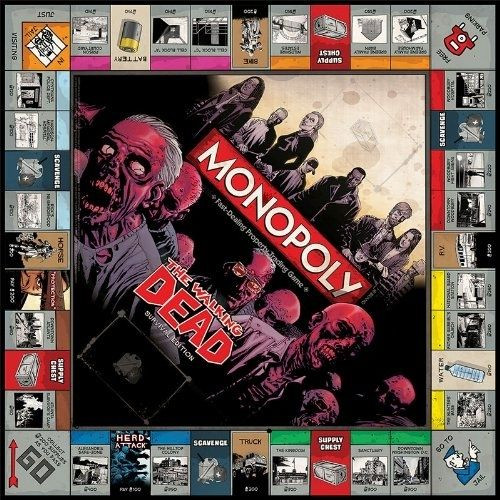 Unique the Walking Dead Monopoly Survival Edition Board Game Cool Monopoly Games Of Charming 45 Images Cool Monopoly Games