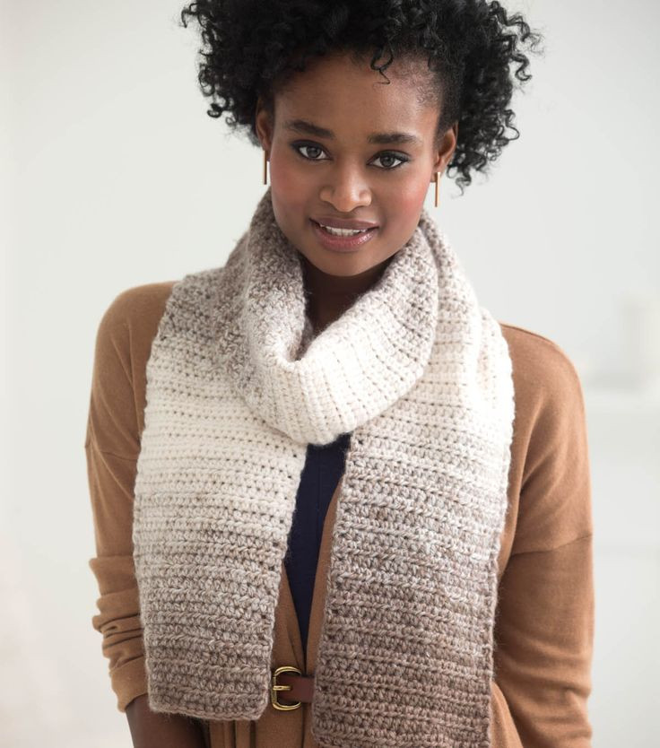 Unique This Self Striping Ombre Scarf is Perfect for the Ing Scarfie Yarn Patterns Of Luxury 50 Photos Scarfie Yarn Patterns