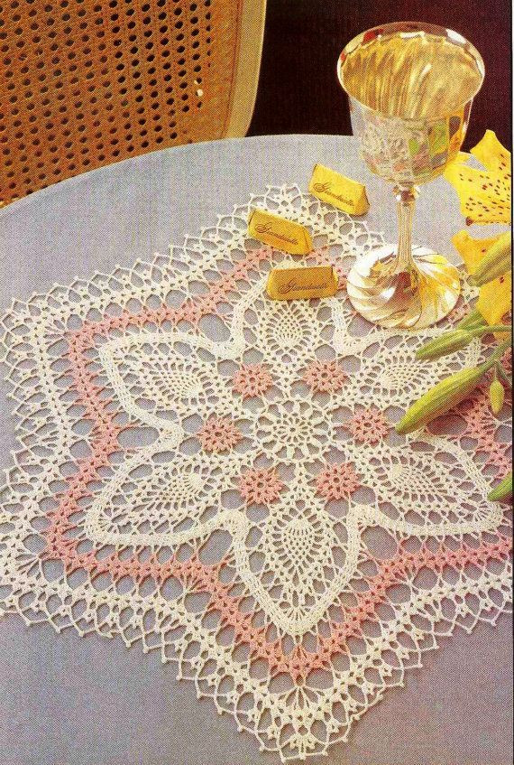 Unique Thread Crochet Doily Patterns Crochet Table Mat Of Gorgeous 47 Ideas Crochet Table Mat