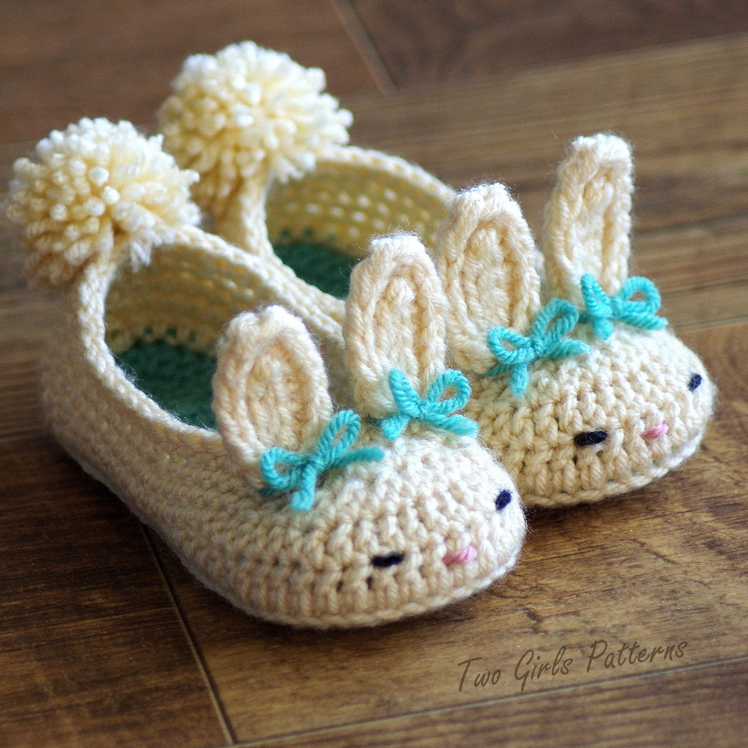 Unique toddler Bunny Slippers 214 Classic Bunny Slipper Crochet Crochet toddler Slippers Of Delightful 50 Images Crochet toddler Slippers