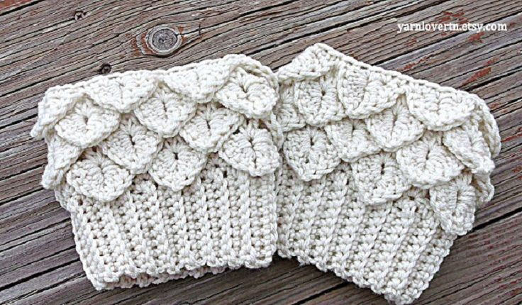 Top 10 Beautiful and Warm Free Boot Cuff Crochet Patterns