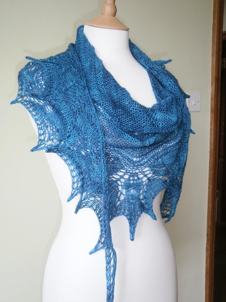Unique top 5 Free Knitting Patterns for Christmas In July Knit Lace Shawl Of Contemporary 41 Pics Knit Lace Shawl