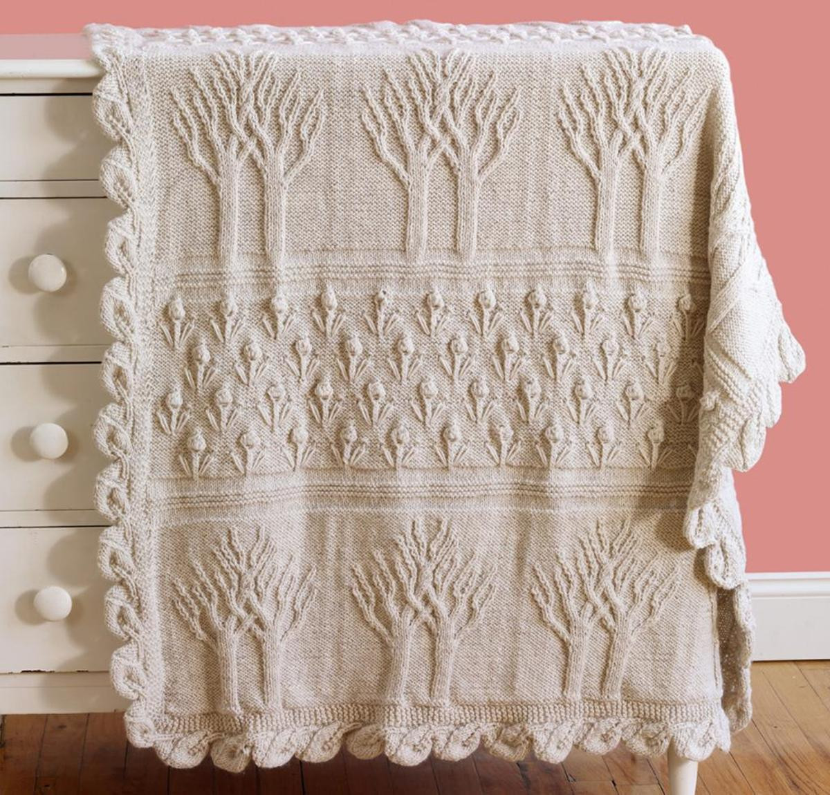 Unique Tree Of Life Afghan Knitting Kit Blanket Knitting Kit Of Lovely 47 Models Blanket Knitting Kit
