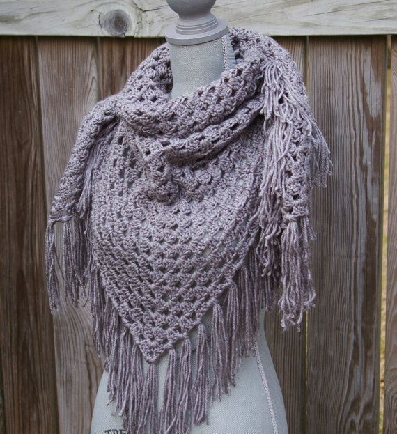 Unique Triangle Crochet Scarf with Fringe Pattern Triangle Scarf Crochet Pattern Of Marvelous 44 Photos Triangle Scarf Crochet Pattern