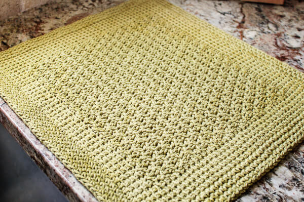 Unique Tunisian Crochet Kitchen Mat Pattern Crochet Table Mat Of Gorgeous 47 Ideas Crochet Table Mat
