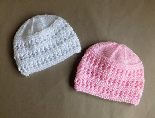 Two Baby Hat Knitting Patterns
