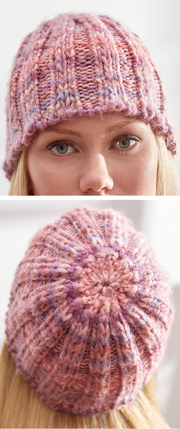 Unique Two Row Repeat Knitting Patterns Rib Knit Hat Of Gorgeous 47 Models Rib Knit Hat