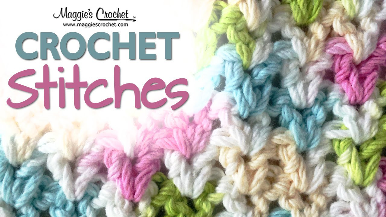 v stitch free crochet pattern