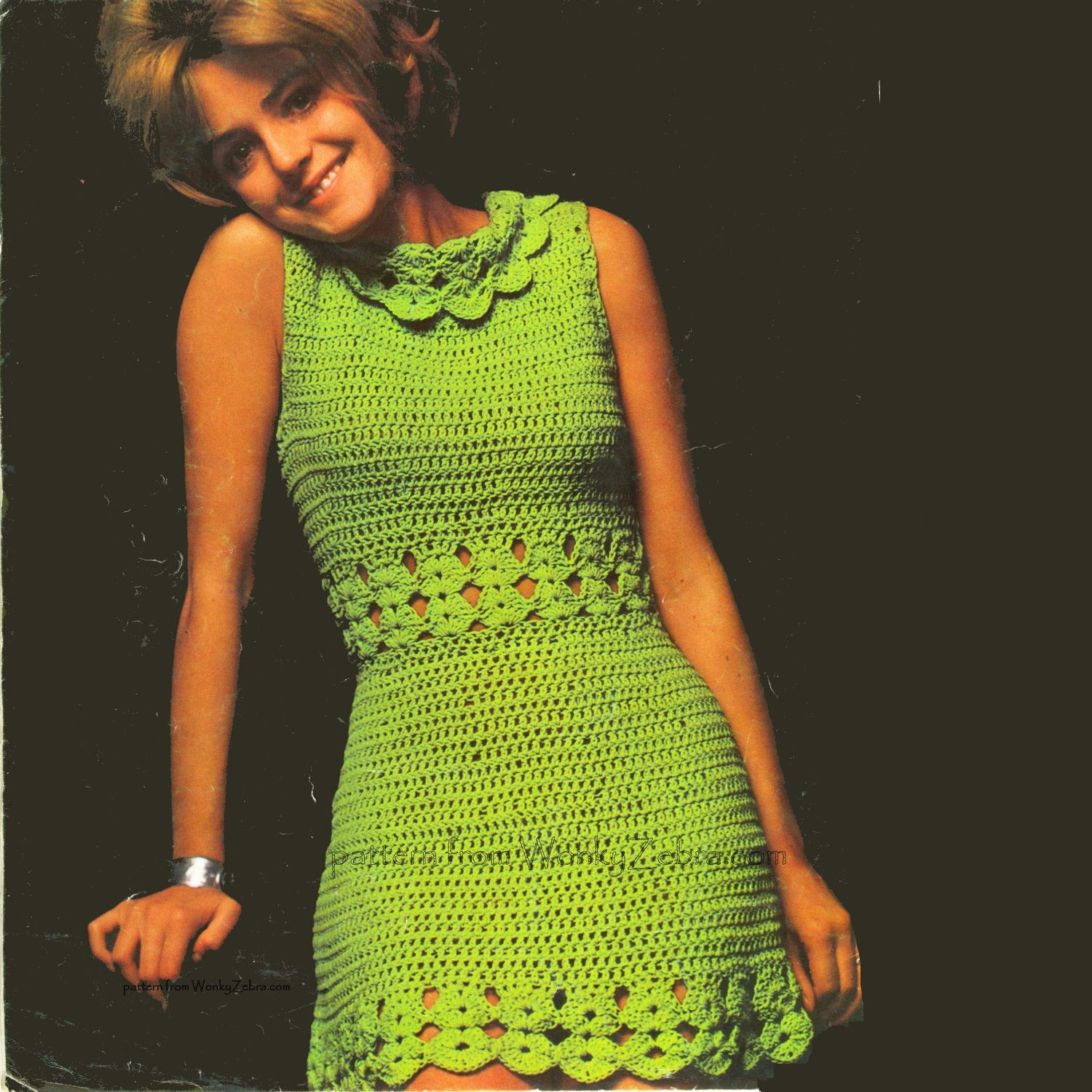 Unique Vintage Crochet Green Goddess Dress Pattern Pdf 409 From Crochet Clothing Patterns Of Amazing 44 Pics Crochet Clothing Patterns
