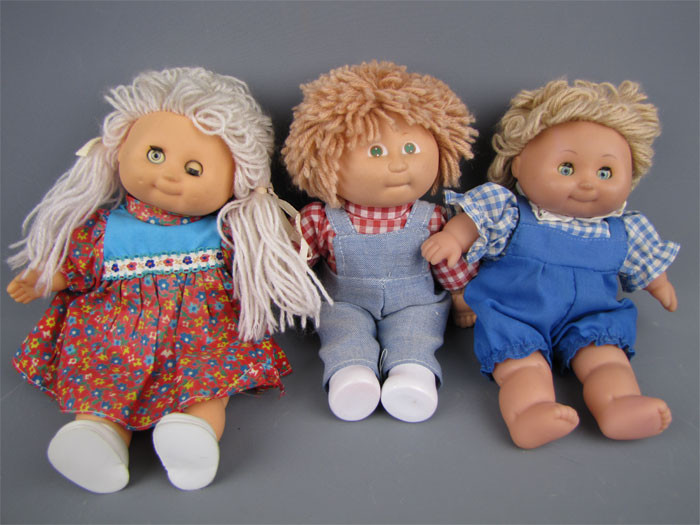 "Unique Vintage Lot Mini soft Body Cabbage Patch Kids Dolls 9"" Small Cabbage Patch Dolls Of Unique 47 Pictures Small Cabbage Patch Dolls"