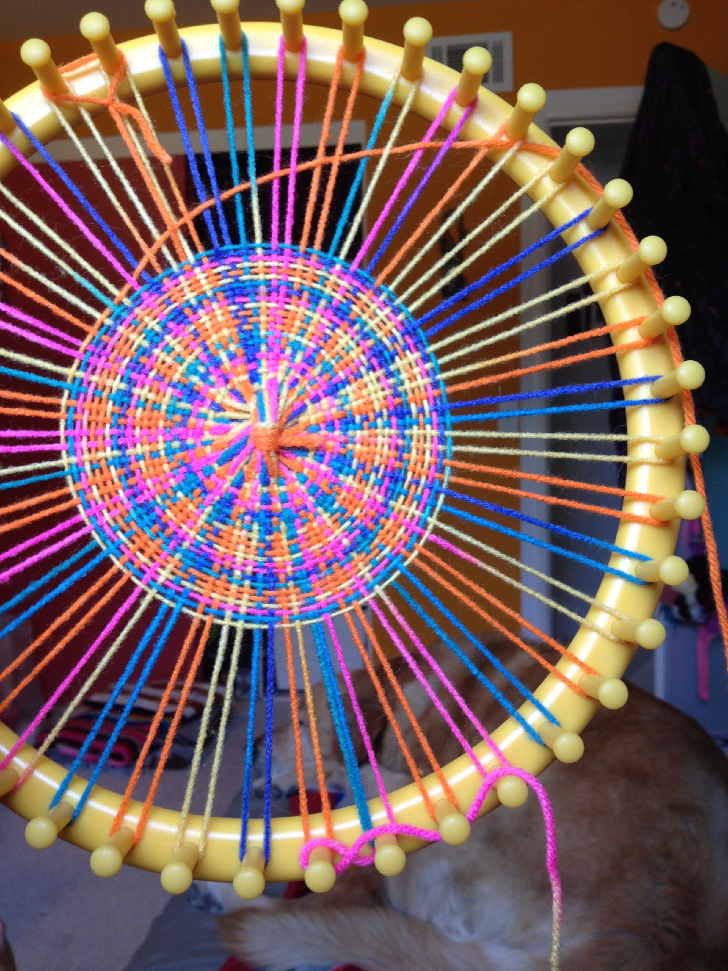 Unique Weaving On A Round Knitting Loom but the Same Loom Circle Loom Knitting Of Superb 50 Images Circle Loom Knitting