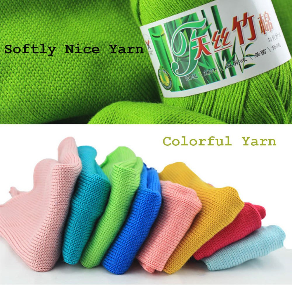 Unique wholesale Popular Colors Super soft Natural Smooth Bamboo Discount Yarn Bulk Of Adorable 46 Models Discount Yarn Bulk