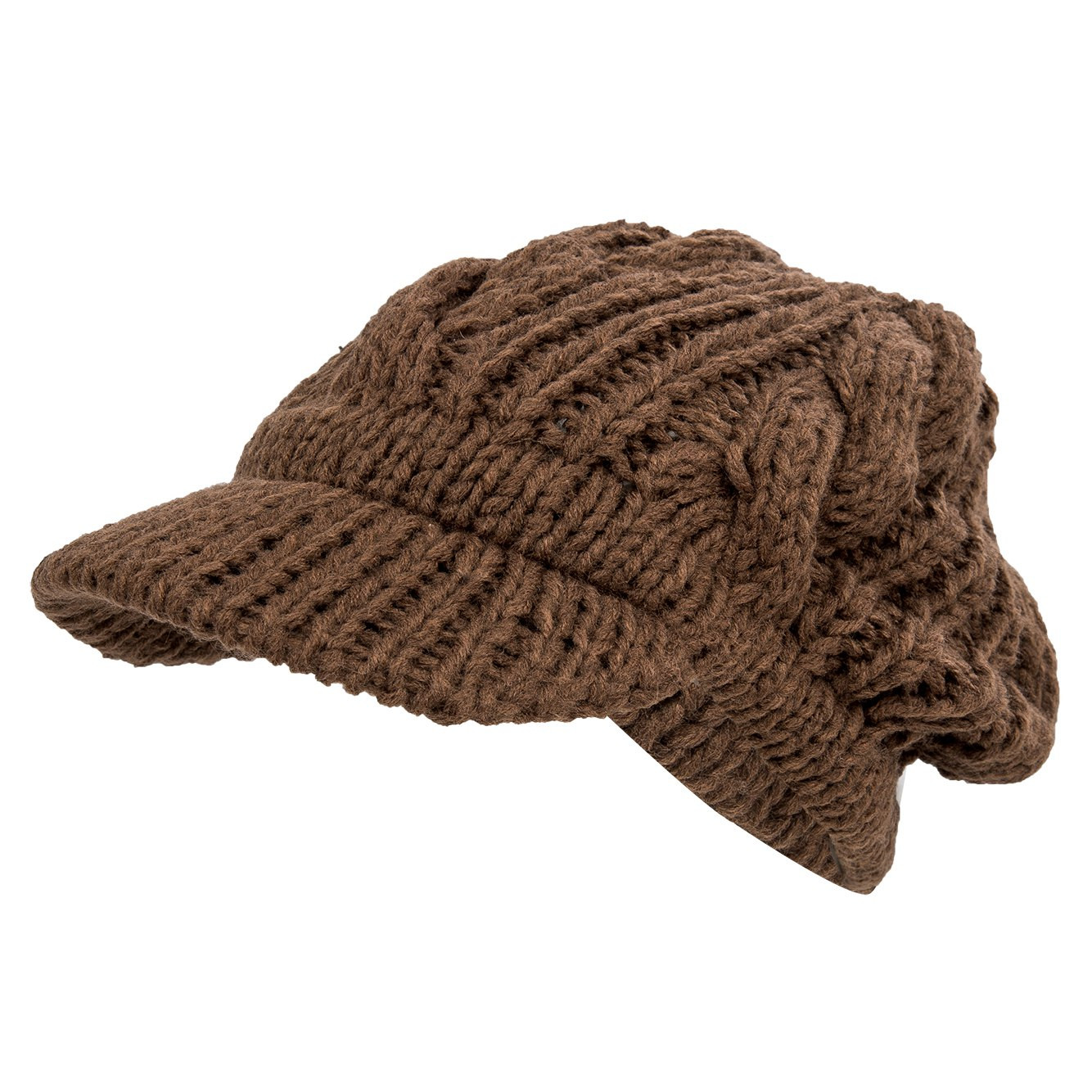 Unique Women Slouchy Cabled Pattern Knit Beanie Crochet Rib Hat Cable Hat Pattern Of New 40 Models Cable Hat Pattern