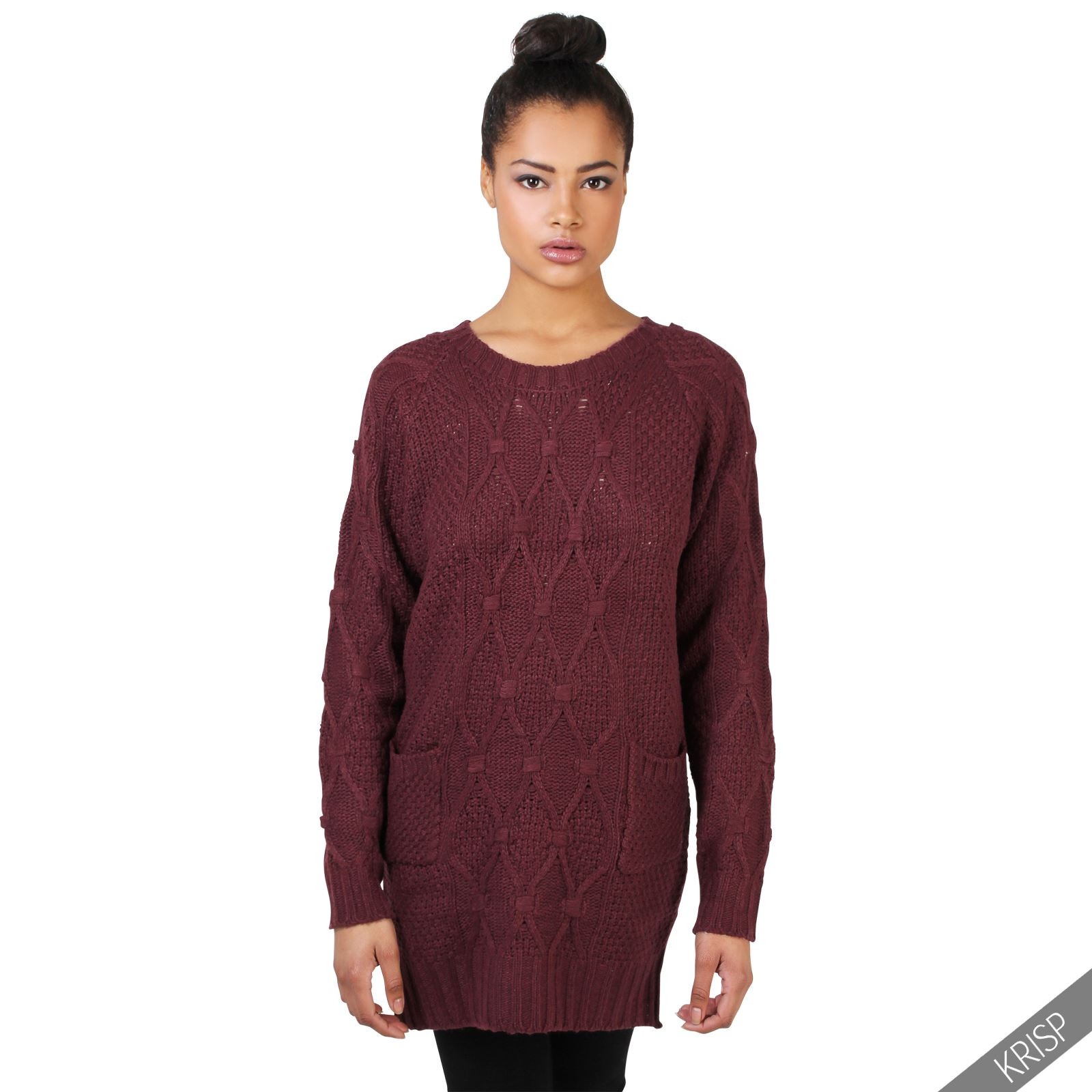 Unique Womens Chunky Cable Knit Baggy Long Winter Jumper La S Womens Chunky Cable Knit Sweater Of Luxury 45 Models Womens Chunky Cable Knit Sweater