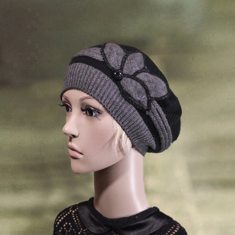 Unique Womens Knit Beret Knitted Warm Beret La S Wool Beret Knit Knit Beret Of Beautiful 41 Models Knit Beret