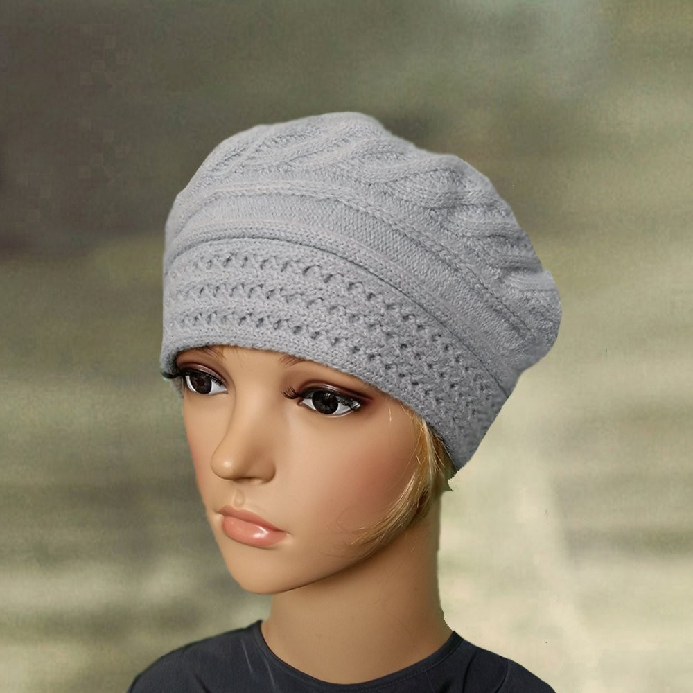 Unique Wool Beret Women Knitted Womens Beret Knit Beret Lady Knit Beret Of Beautiful 41 Models Knit Beret