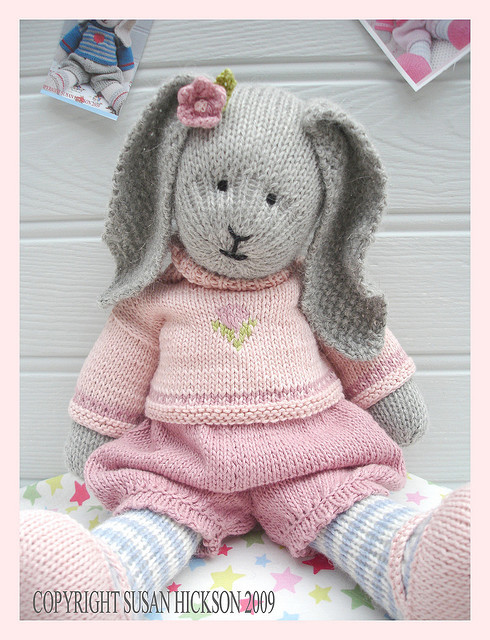 """Unique Wool Free and Wonderful Introduces """"primrose Rabbit Free Knitting Patterns toys Of Delightful 41 Pictures Free Knitting Patterns toys"""