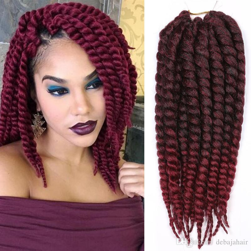 Unique Xpression Ombre Synthetic Braiding Hair Extensions Burgundy Faux Locs Crochet Of Beautiful 41 Models Burgundy Faux Locs Crochet