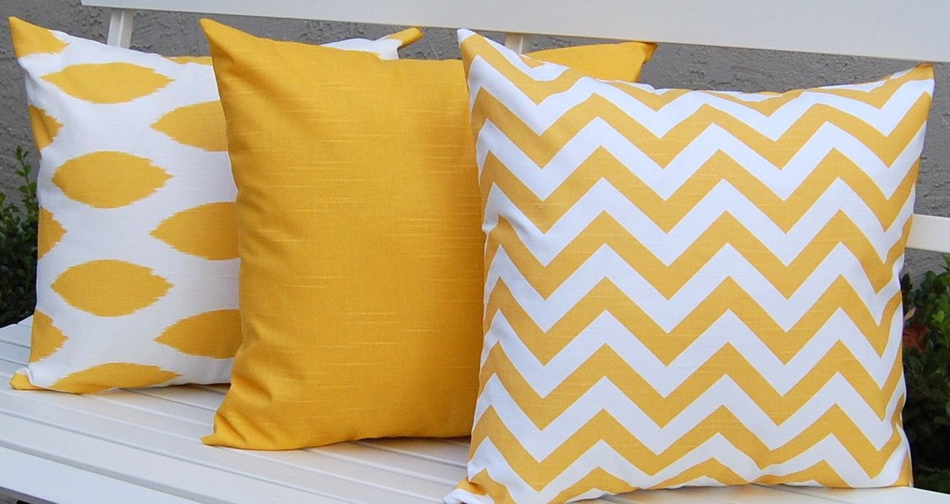 Unique Yellow Decorative Pillows Kids Art Decorating Ideas Patterned Throw Of Amazing 40 Photos Patterned Throw