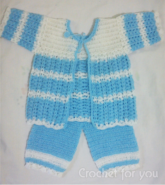 Unique You Have to See Crochet New Born Baby Sweater Set by Crochet Baby Sweater Sets Of Charming 43 Photos Crochet Baby Sweater Sets