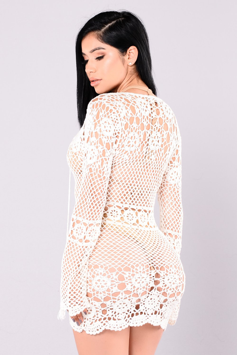 Unique Zaneta Crochet Dress F White Crochet Trim Dresses Of Attractive 47 Images Crochet Trim Dresses