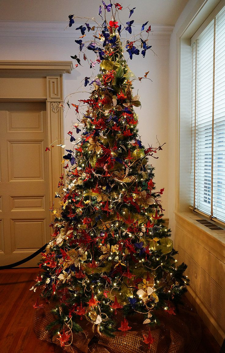 Unusual Christmas Decorations New 62 Best Beautiful butterfly Christmas Images On Pinterest Of Delightful 42 Pictures Unusual Christmas Decorations