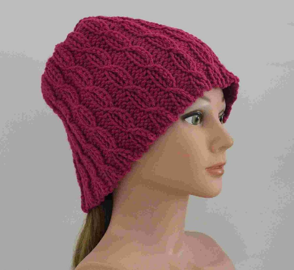 Unusual Crochet Patterns Awesome Unique Cables Hat Crochet Pattern by Anita Holdren Of Adorable 46 Pictures Unusual Crochet Patterns
