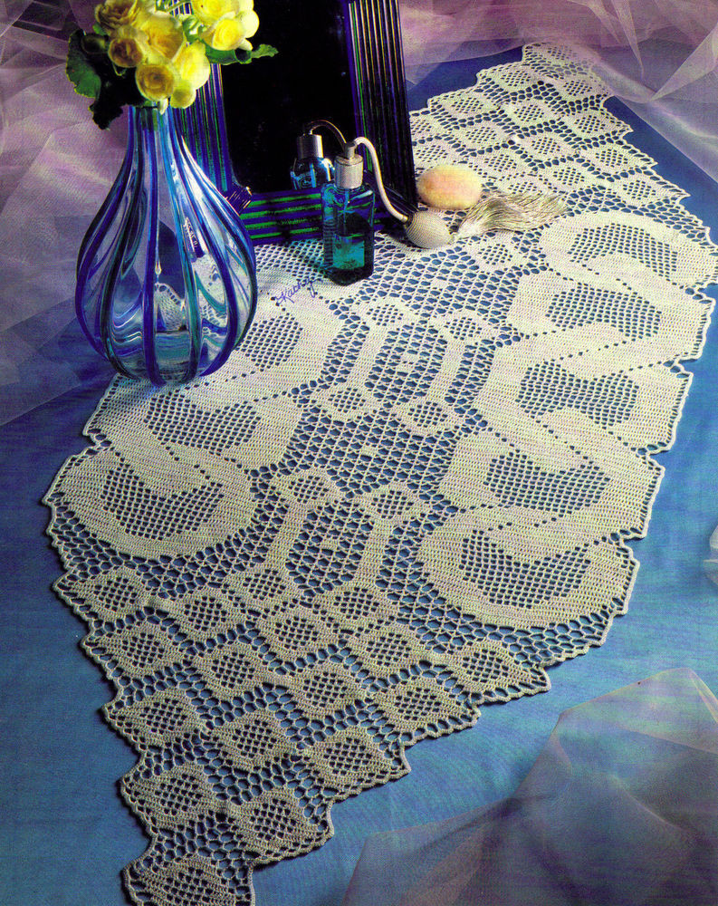 Unusual Crochet Patterns Best Of Unusual Linkage Runner Doily Crochet Pattern Instructions Of Adorable 46 Pictures Unusual Crochet Patterns