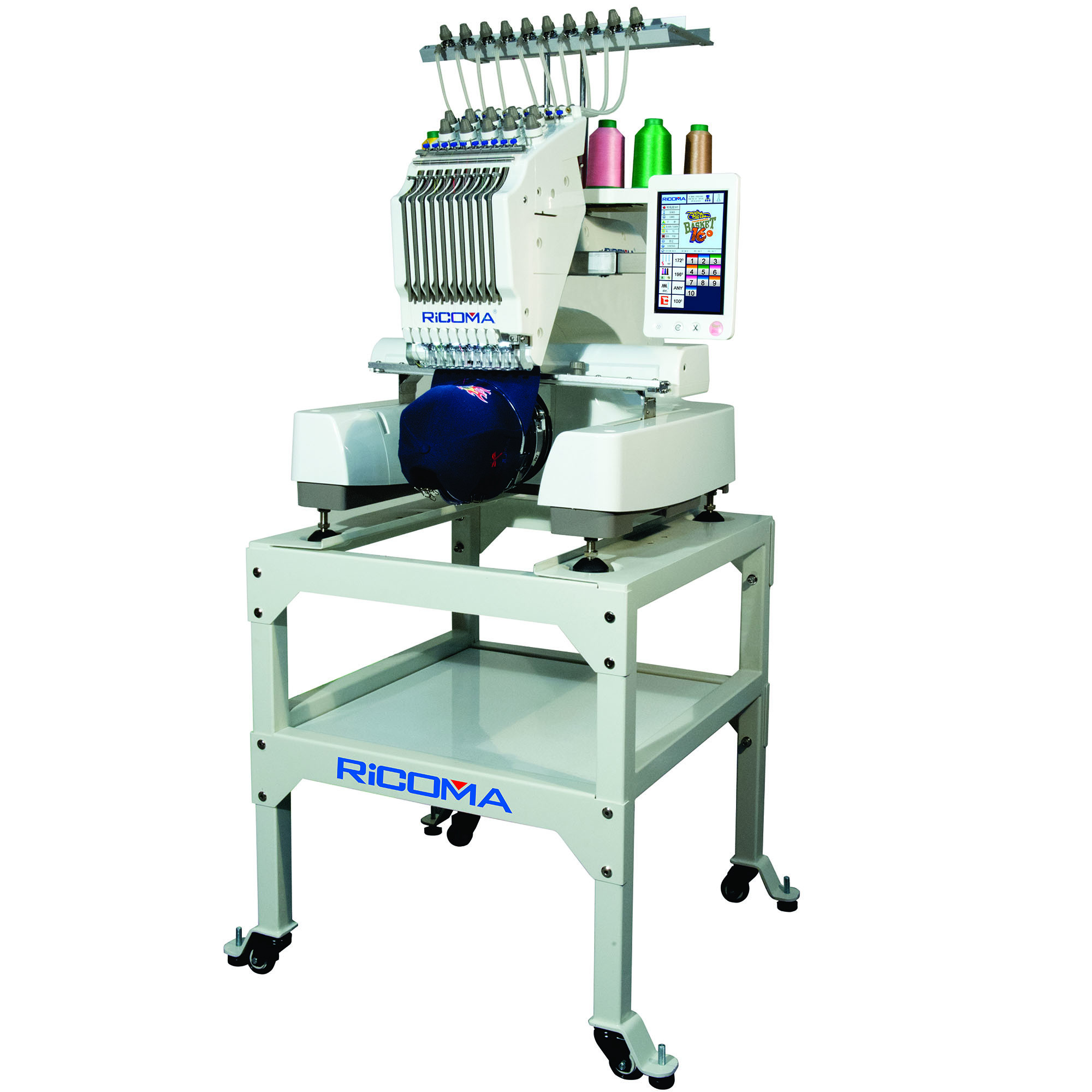 Used Embroidery Machines Fresh Ri A Embroidery Machine with Hd touch Screen 10 Needle Of Contemporary 41 Images Used Embroidery Machines