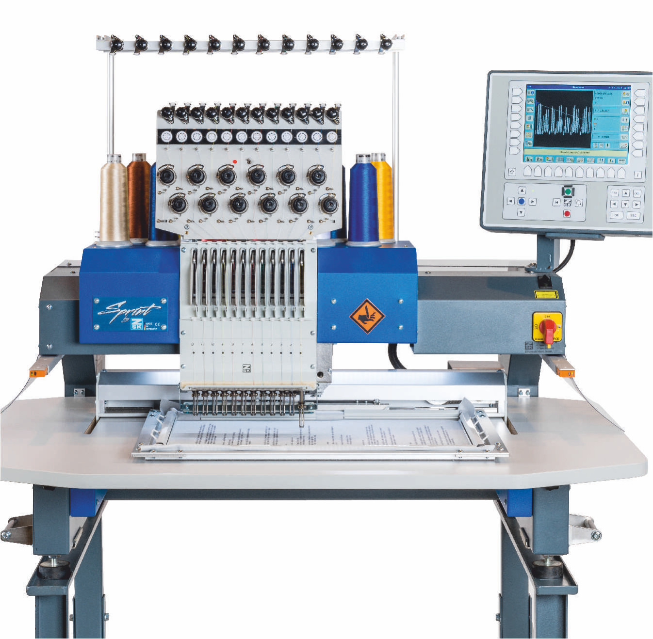 Used Embroidery Machines For Sale Uk Melco Brother