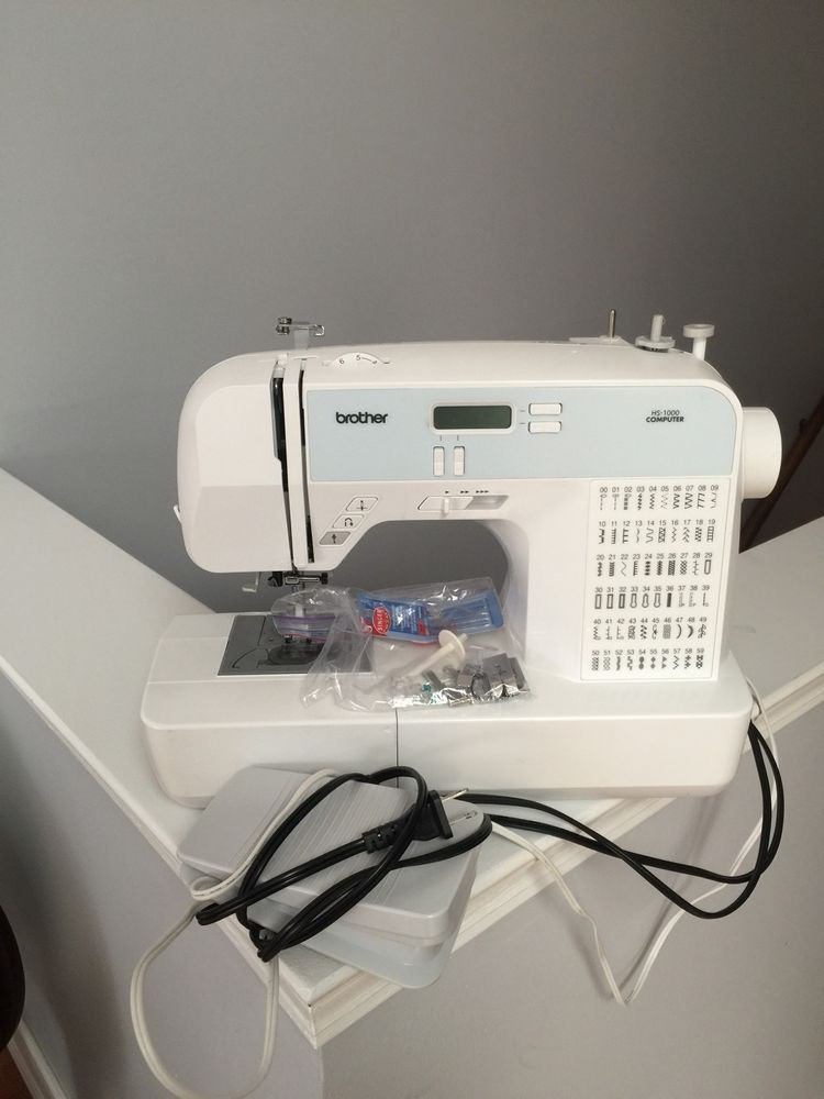 Used Embroidery Machines Luxury Brother Hs1000 Puterized Sewing Machine Slightly Used Of Contemporary 41 Images Used Embroidery Machines