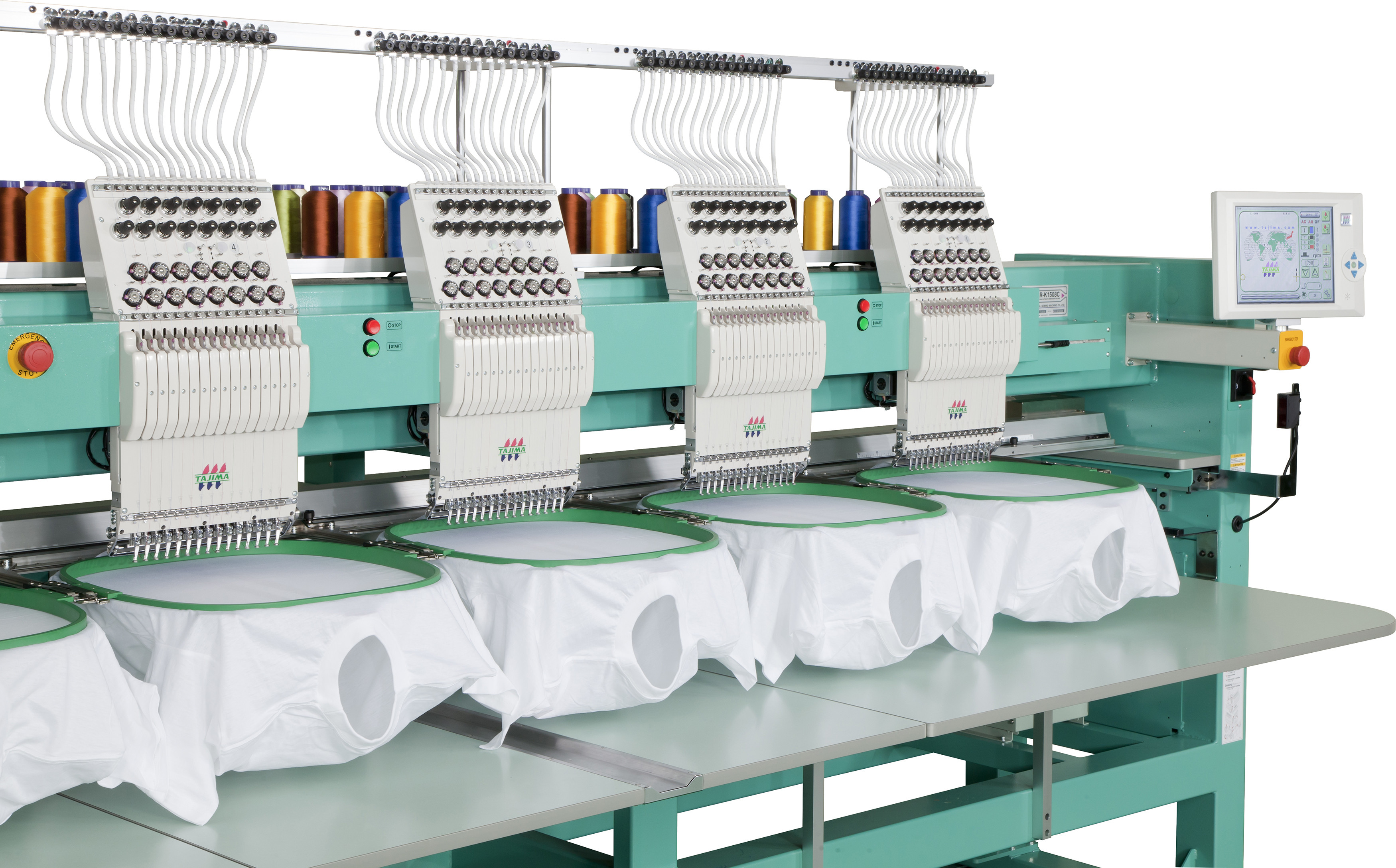 Used Embroidery Machines Unique New Tajima Tmar Kc Takes Embroidery to the Next Level Of Contemporary 41 Images Used Embroidery Machines
