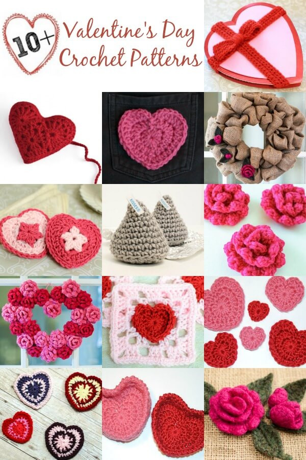 Valentine Crochet Patterns Unique 10 Free Valentine S Day Crochet Patterns Of Incredible 45 Models Valentine Crochet Patterns