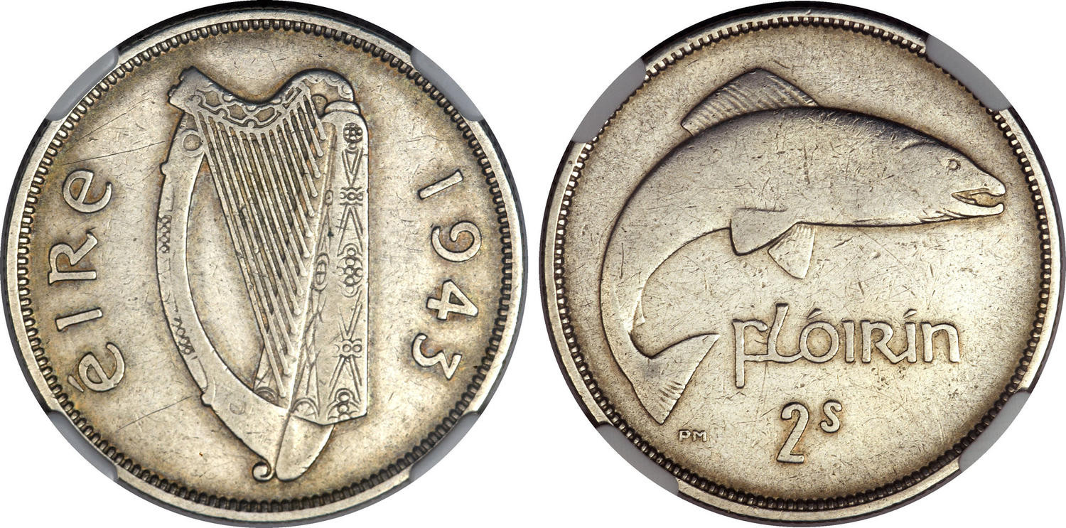 O'Brien Rare Coin Review Why is the 1943 Irish Florin so