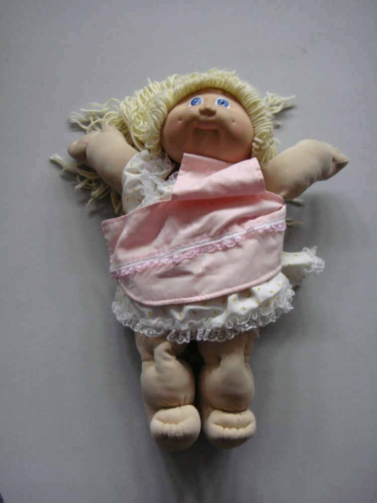 Vintage Cabbage Patch Dolls Awesome Vintage Signed & Dated 1985 Blonde Cabbage Patch Doll Of Amazing 43 Models Vintage Cabbage Patch Dolls