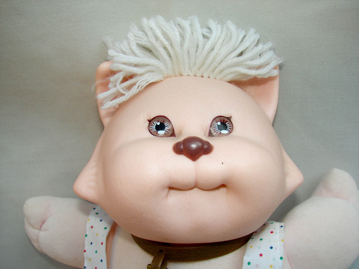 """Vintage Cabbage Patch Dolls Best Of Vintage 1983 Cabbage Patch Kid Koosas 13"""" Cat Doll Of Vintage Cabbage Patch Dolls Fresh Cabbage Patch Kids Vintage Doll Limited Edition 30th"""