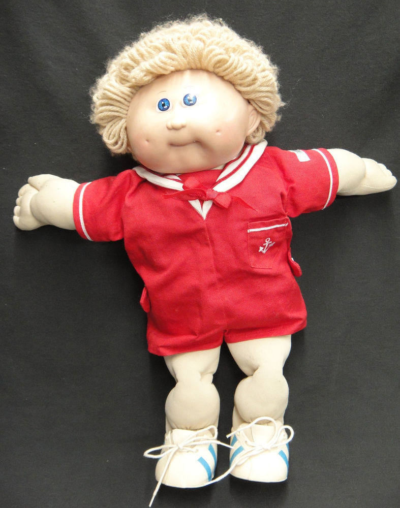 Vintage Cabbage Patch Dolls Best Of Vintage 1986 Cabbage Patch Boy Doll Xavier Roberts Coleco Of Amazing 43 Models Vintage Cabbage Patch Dolls