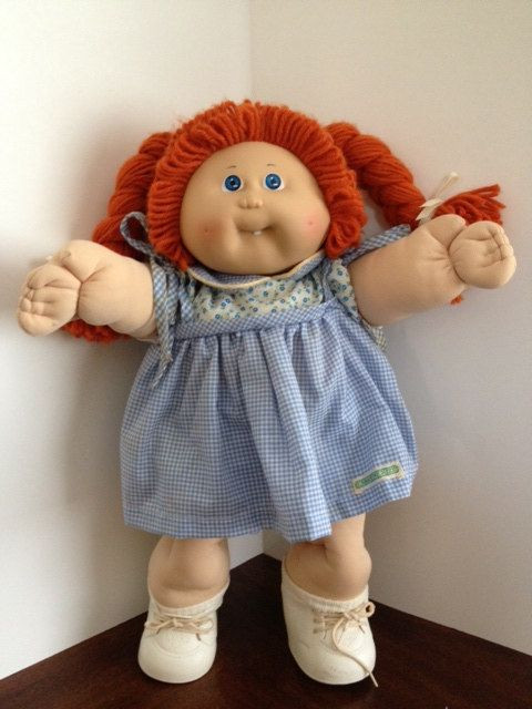 Vintage Cabbage Patch Dolls Elegant Vintage 1980s Cabbage Patch Doll with A Single tooth Of Amazing 43 Models Vintage Cabbage Patch Dolls