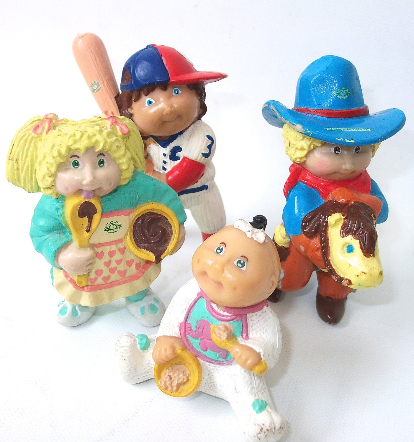 Vintage Cabbage Patch Kids Doll Figures Cabbage by