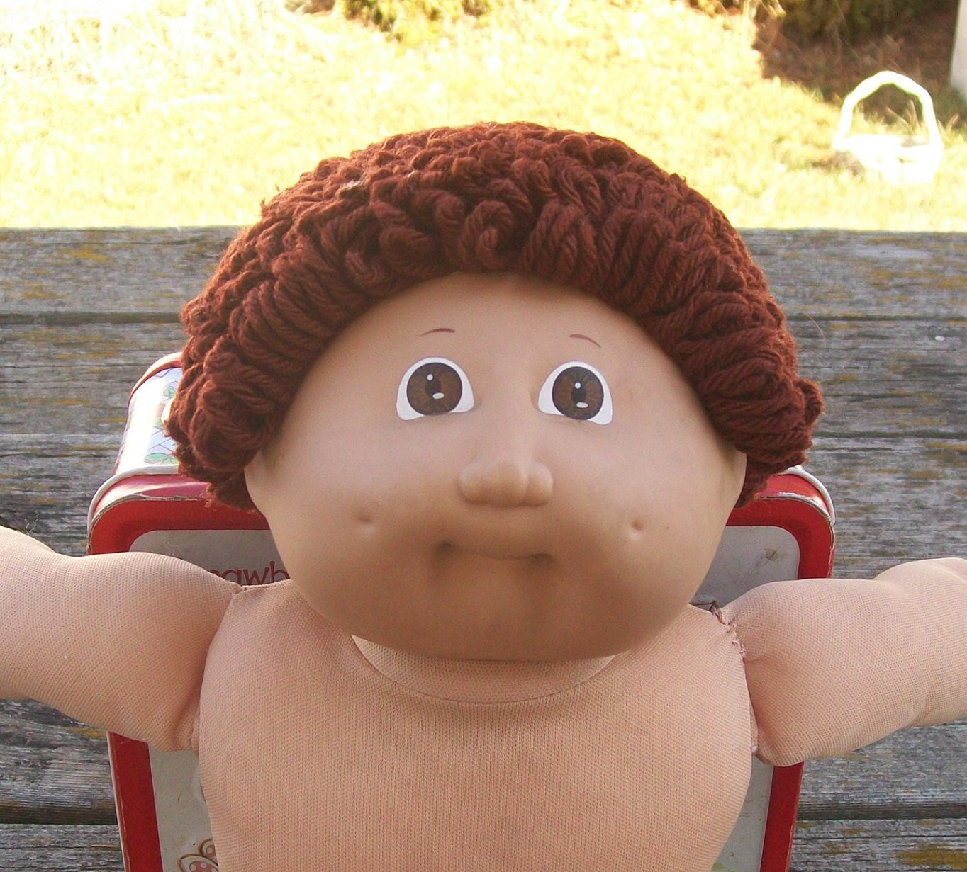 vintage cabbage patch doll boy dark