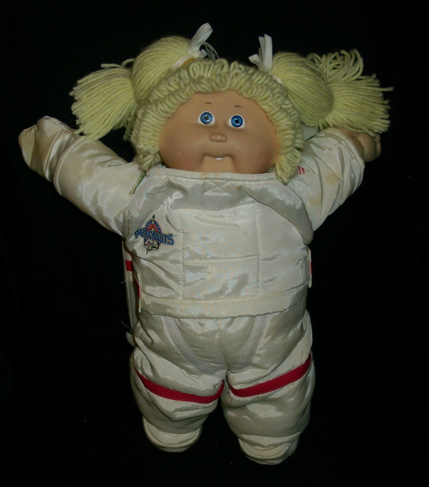 Vintage Cabbage Patch Dolls Lovely Vintage Cabbage Patch Kids Baby Doll Space astronaut Girl Of Vintage Cabbage Patch Dolls Fresh Cabbage Patch Kids Vintage Doll Limited Edition 30th