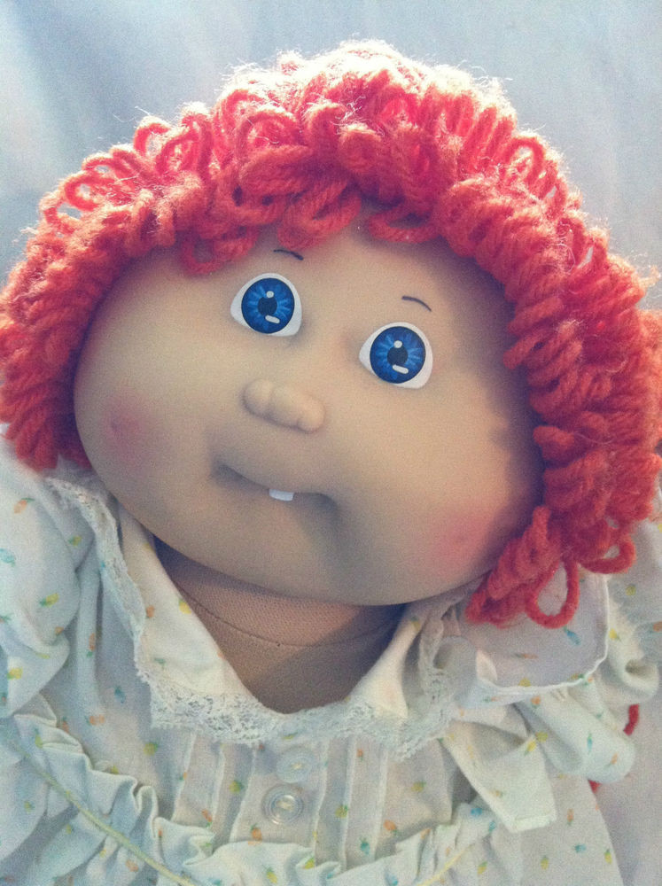 Vintage Cabbage Patch Dolls Luxury Vintage 1985 Cabbage Patch Doll Red Hair Dimple Blue Eyes Of Vintage Cabbage Patch Dolls Fresh Cabbage Patch Kids Vintage Doll Limited Edition 30th