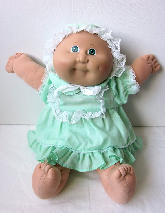 Vintage Cabbage Patch Dolls Unique Vintage Cabbage Patch Kid Preemie Doll Blond Green Eyes Of Amazing 43 Models Vintage Cabbage Patch Dolls
